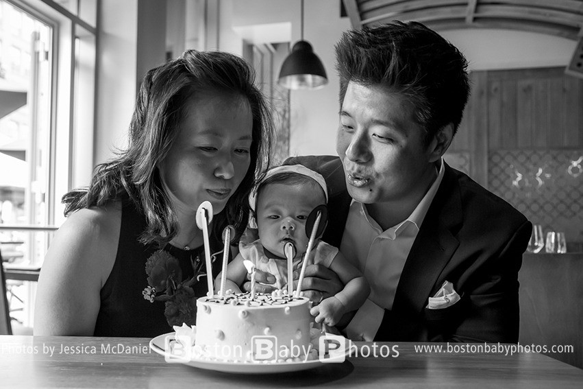Back Bay, Boston Baby Photographer -- She's 100 days old!