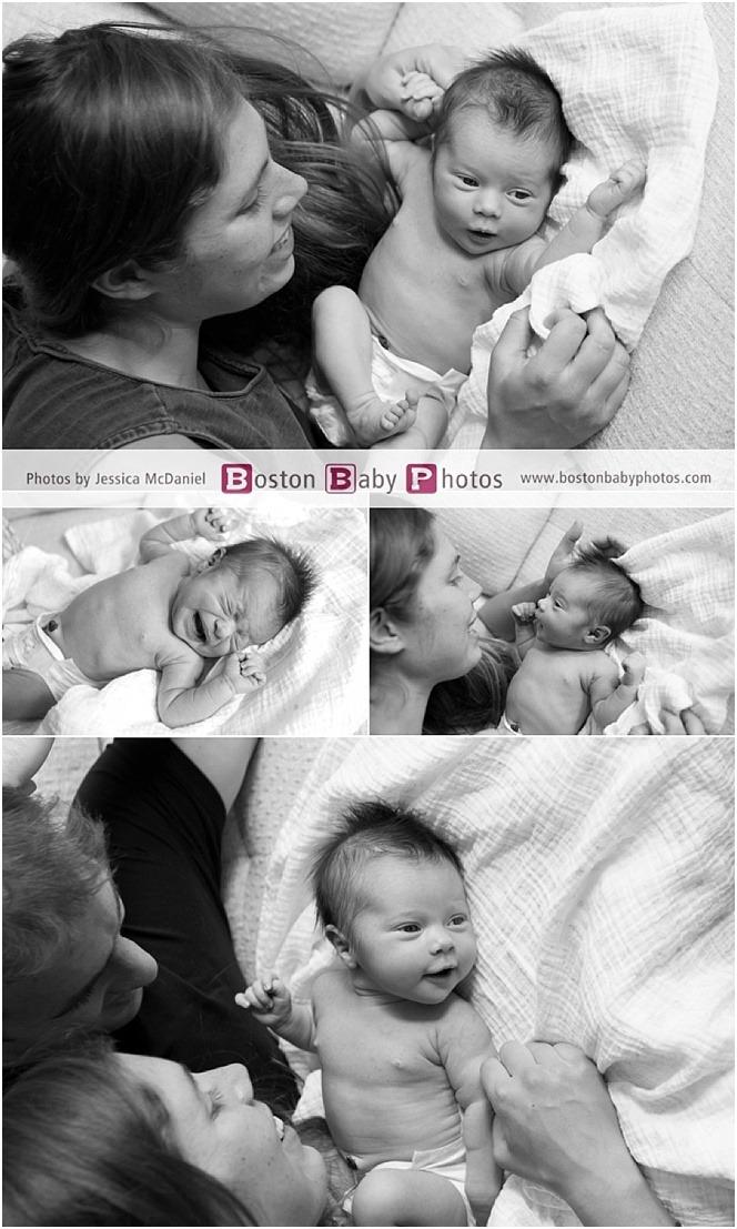 Jamaica Plain Massachusetts Newborn Portraits Boston Baby Photos