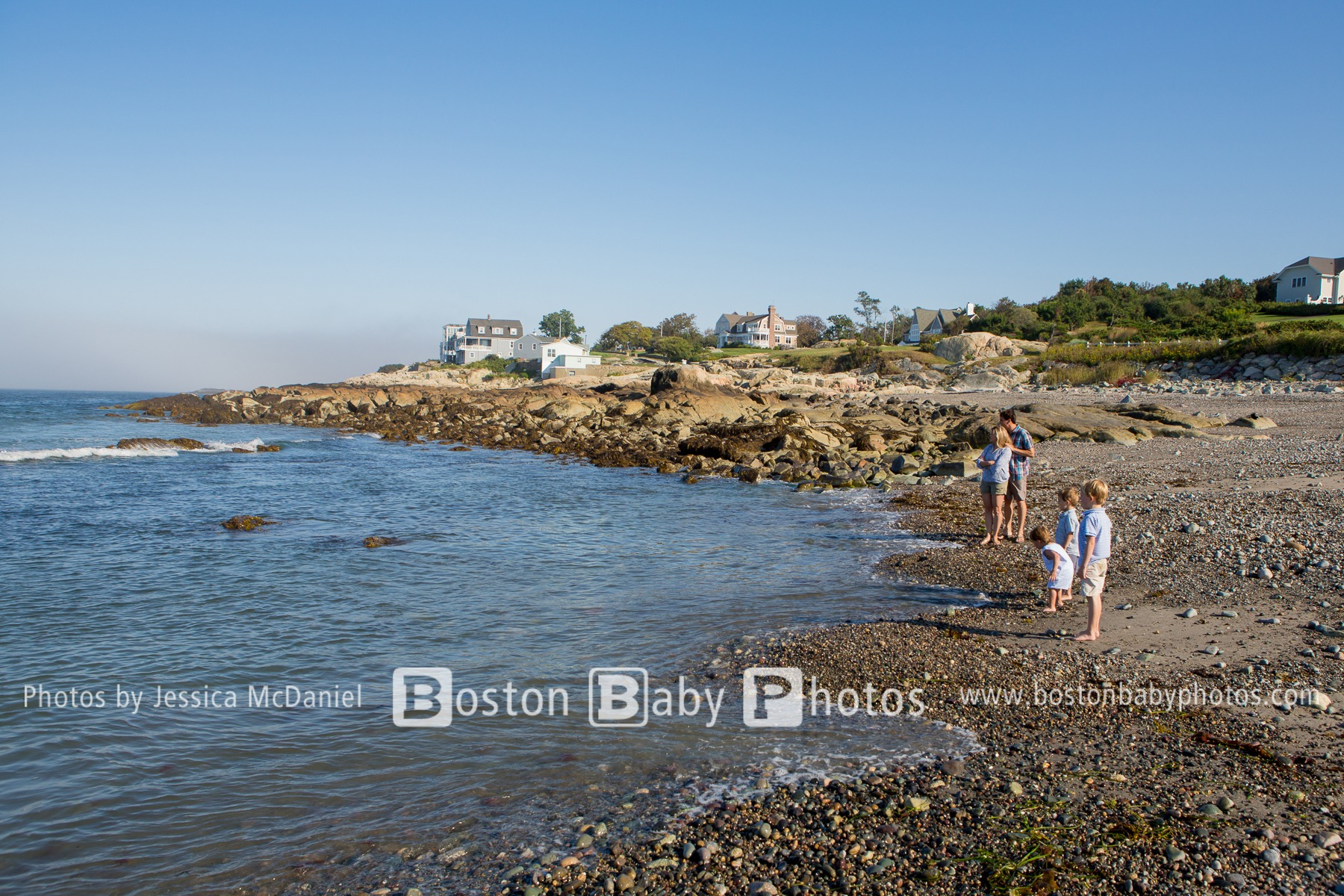 Black Rock Beach, MA Cohasset Beach Family Photoshoot – Family Fun in the Sun