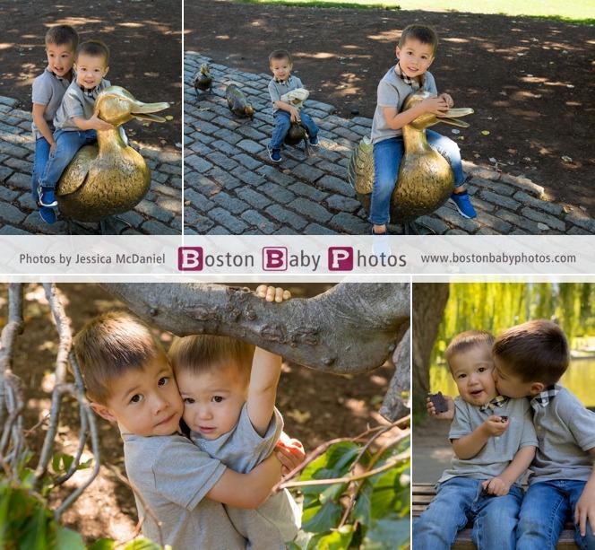 Boston Public Garden minishoot boston baby photos