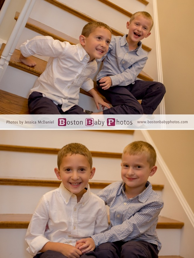 brother photoshoot milton boston baby photos