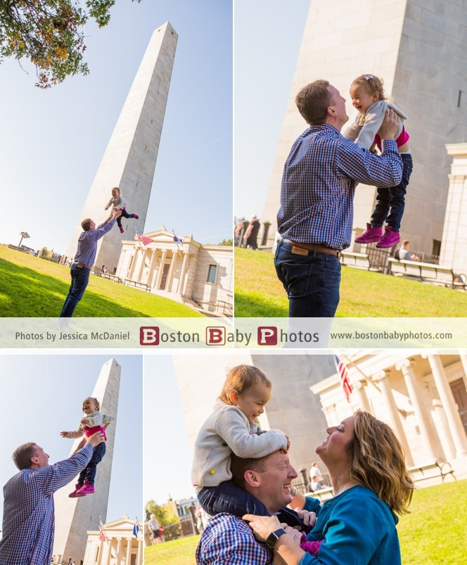 Charlestown Monument Family Photoshoot