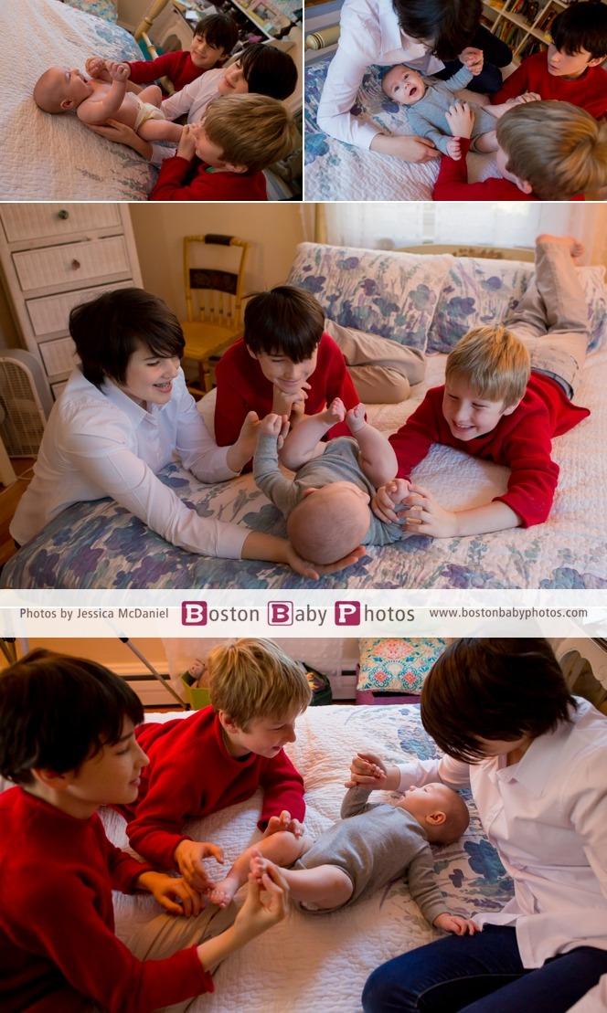 four kids photoshoot