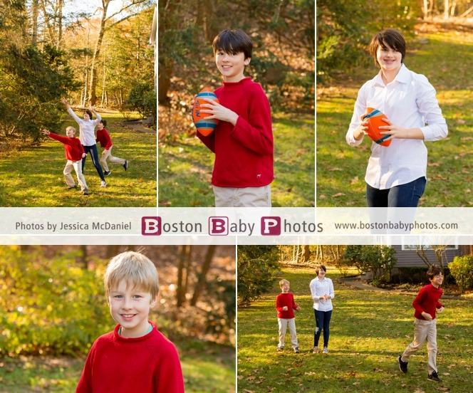 four kids photoshoot