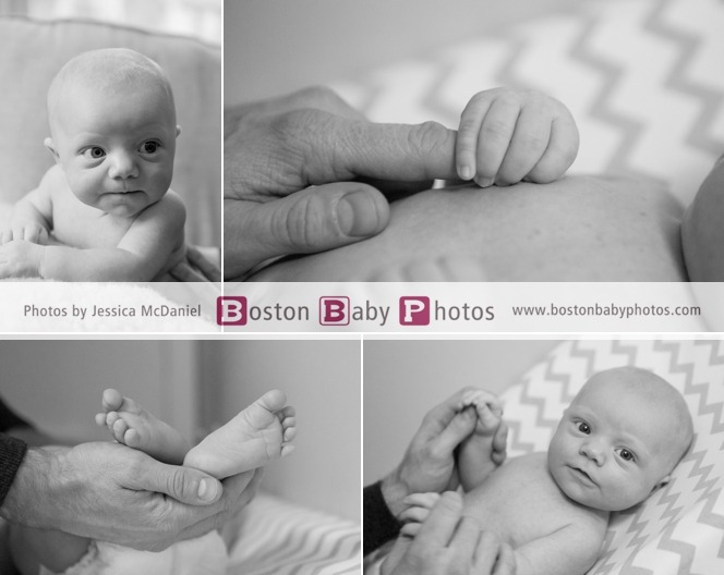 at home newborn photoshoot boston ma