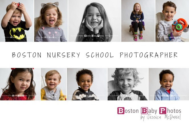 Boston nursery school photographer fun
