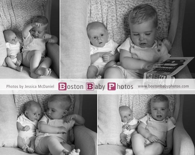 new baby big brother photoshoot
