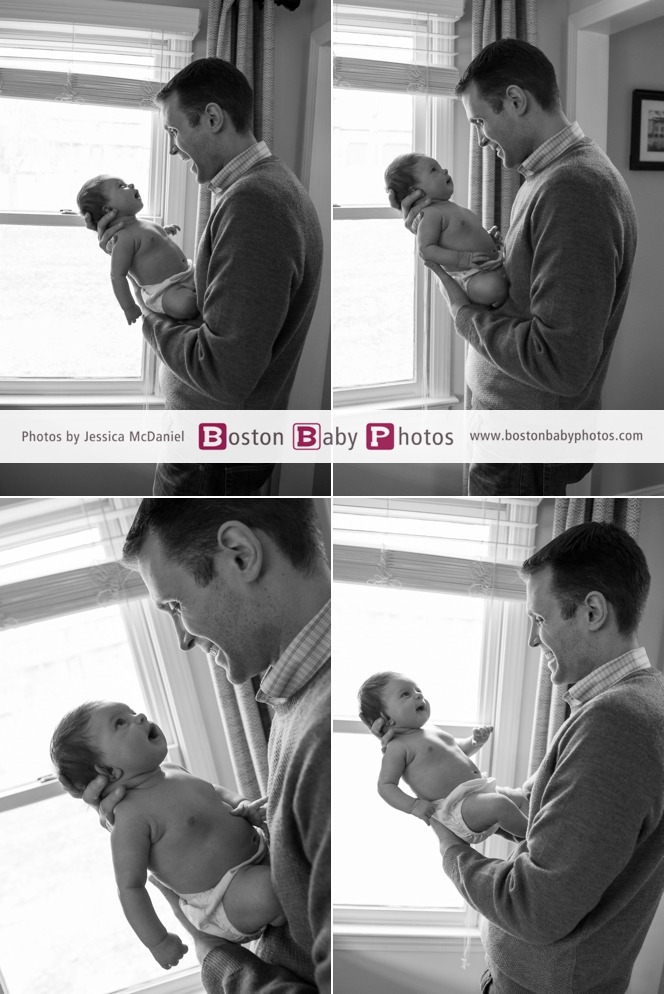 lifestyle newborn family photoshoot