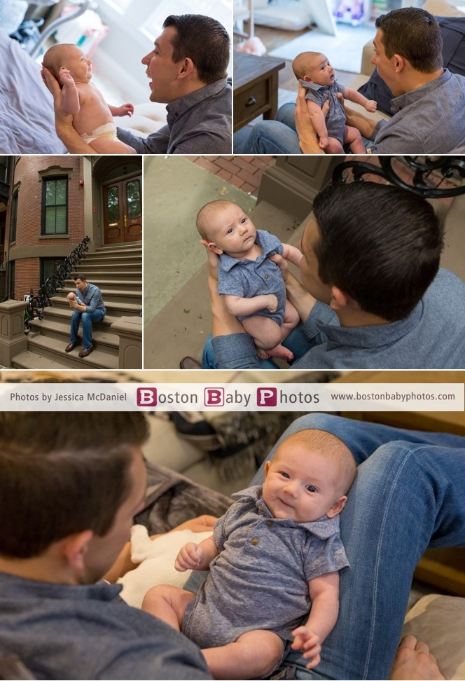 Back Bay baby brother photoshoot