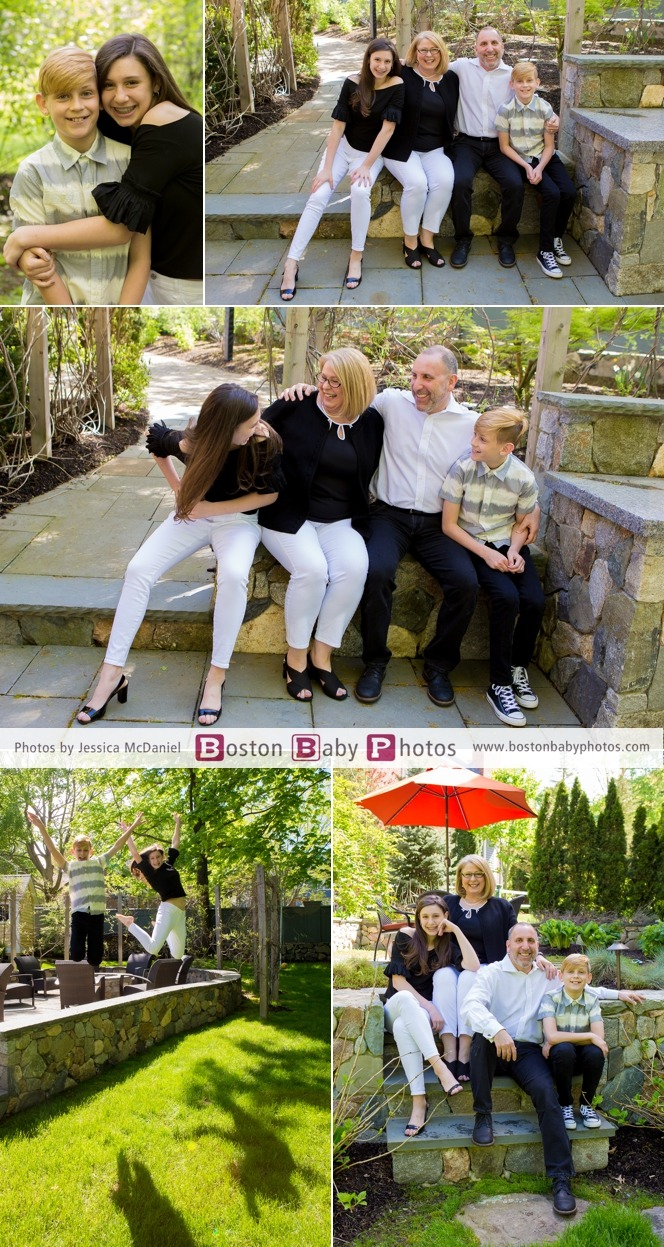 fun family photos with teenagers