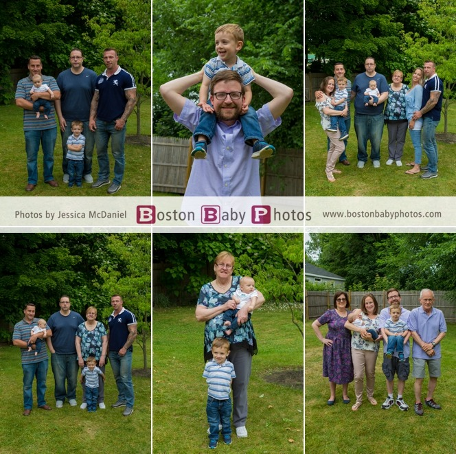 big family newborn photoshoot