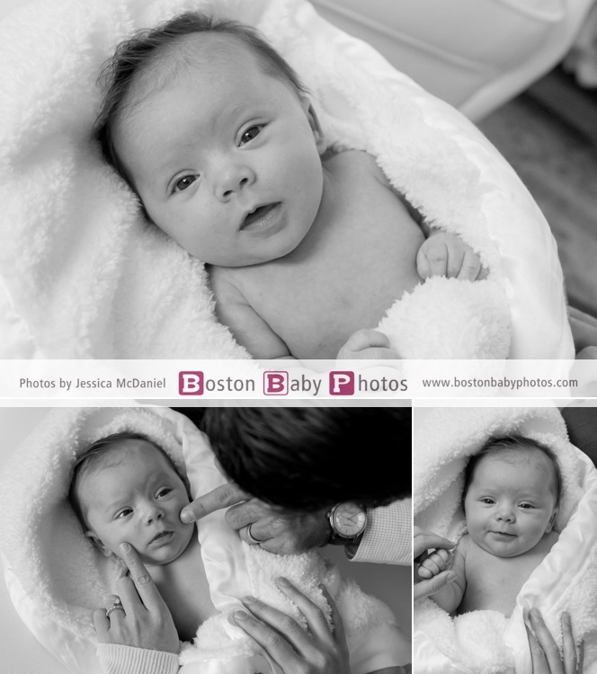 six week old photoshoot