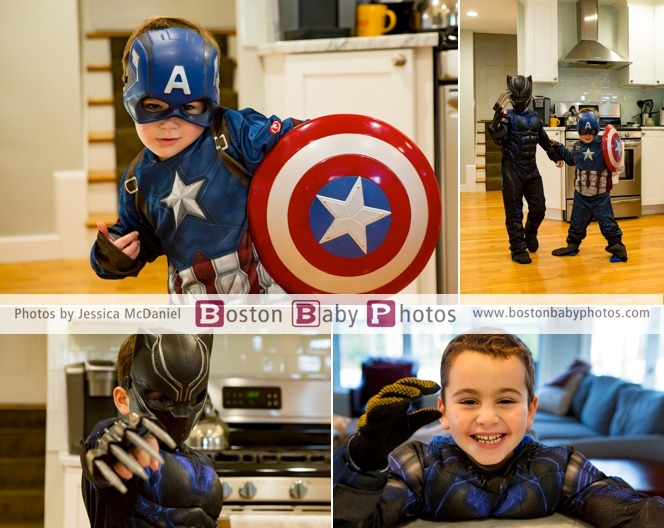 superheroes and parents