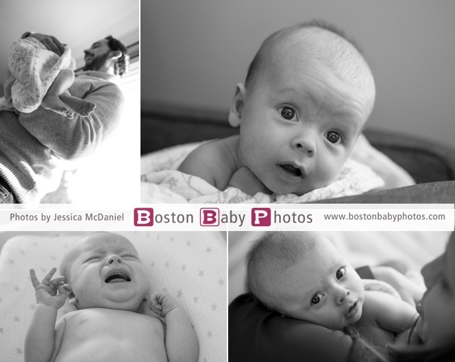 three month old baby photoshoot
