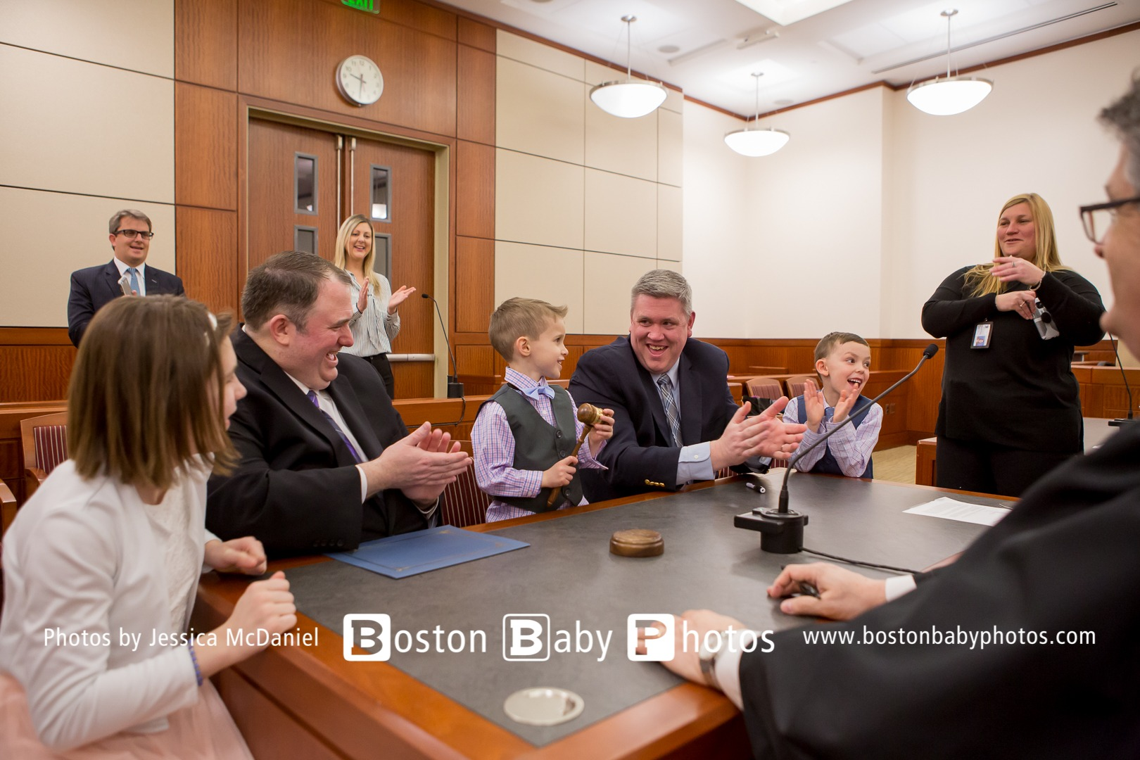 Worcester County Courthouse: A wonderful adoption ceremony this morning