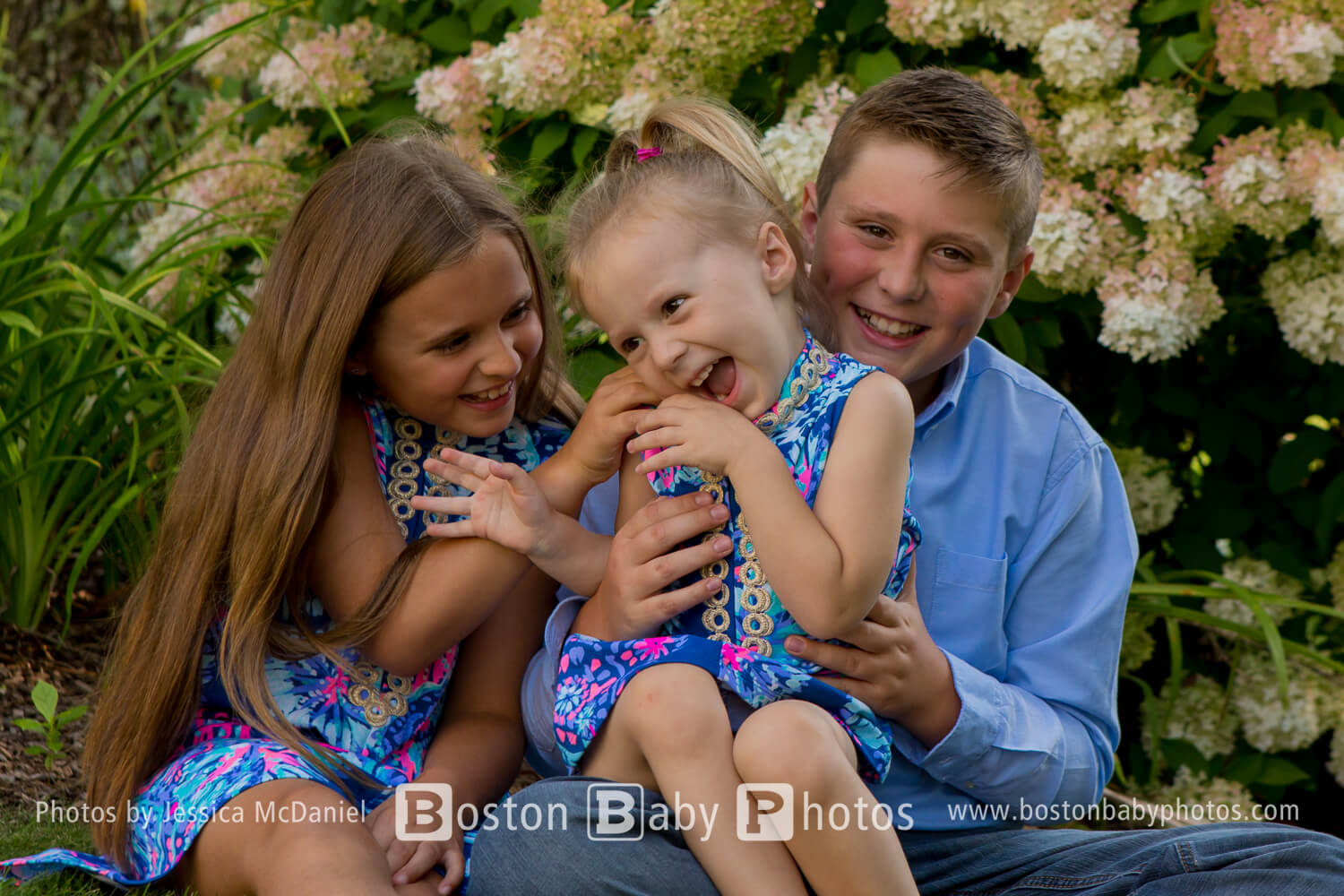 North Attleboro: Spring flowers and cute kids