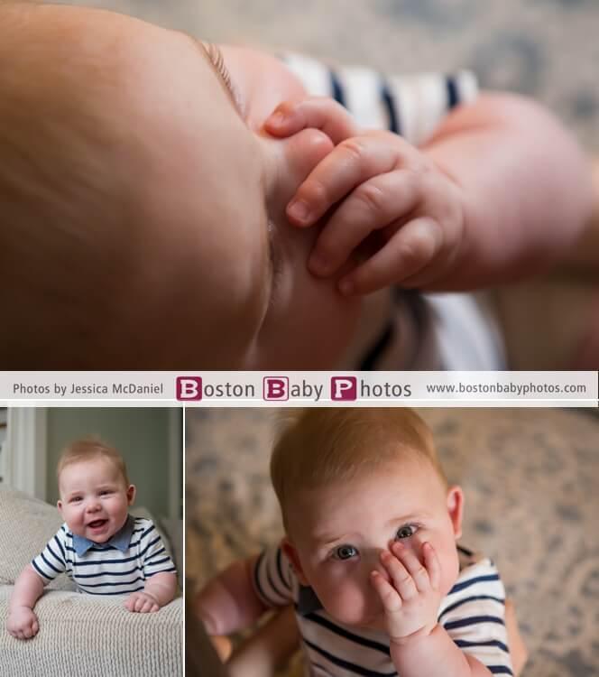 six month photoshoot