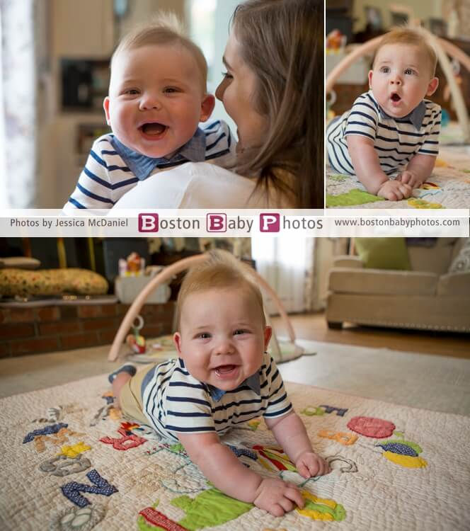 six month photoshoot