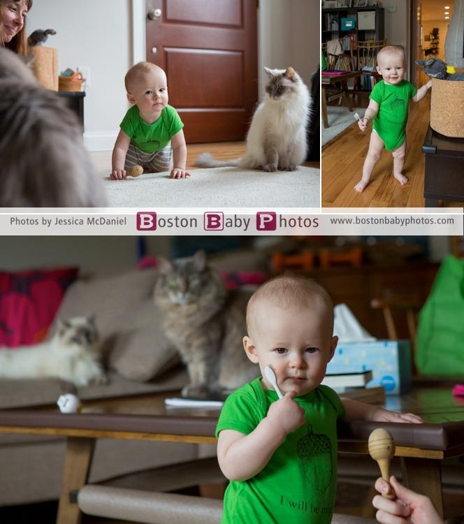 nine month old photoshoot