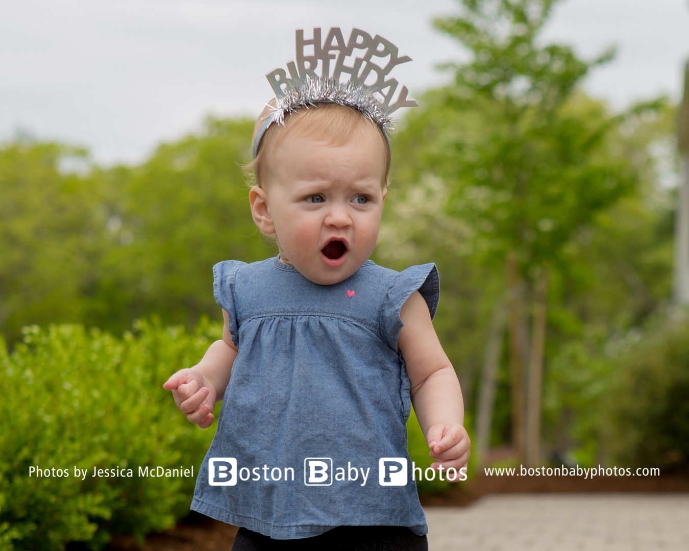 Dedham, MA: First Birthday Photoshoot