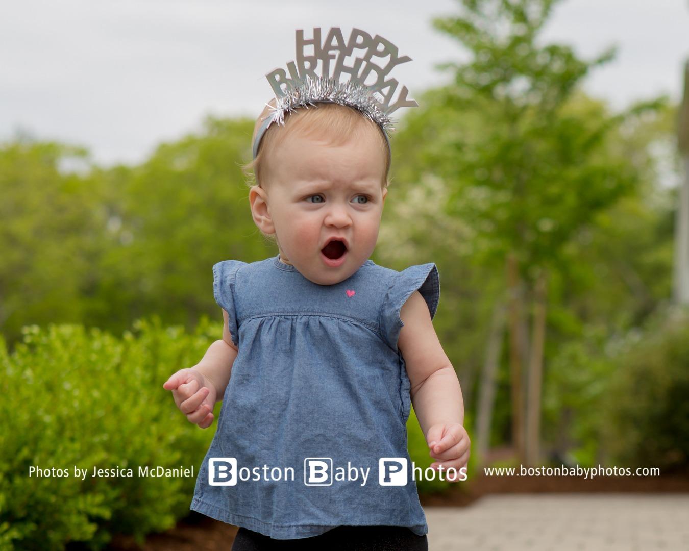 Dedham, MA: First Birthday Photoshoot