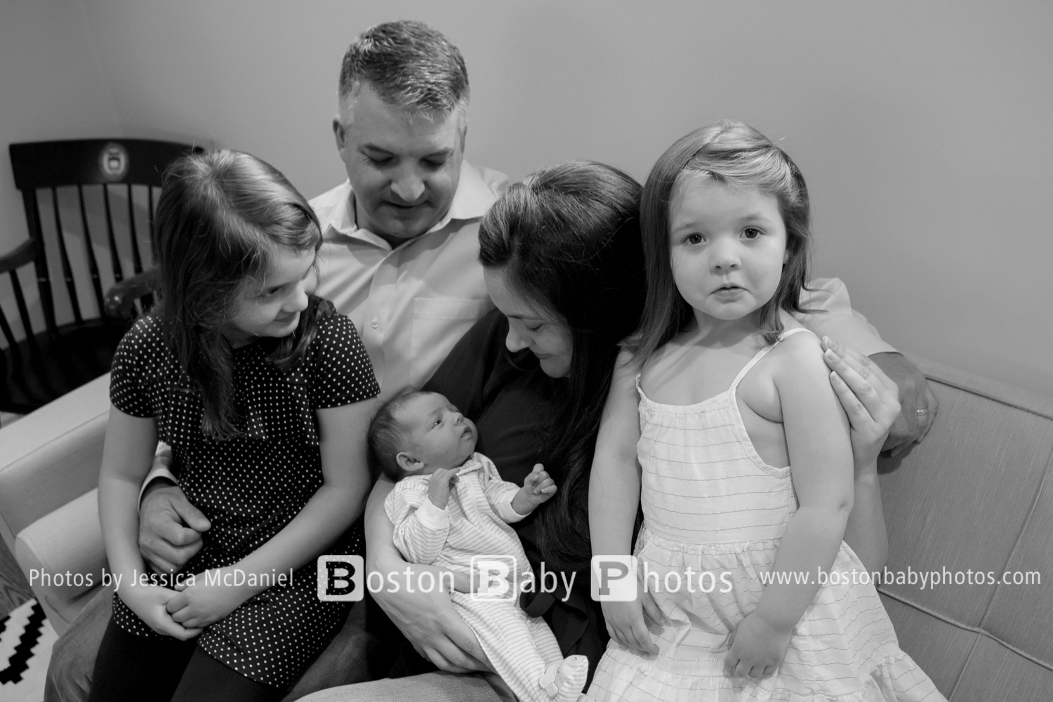 Milton, MA: Three sister photoshoot - welcome wee one!