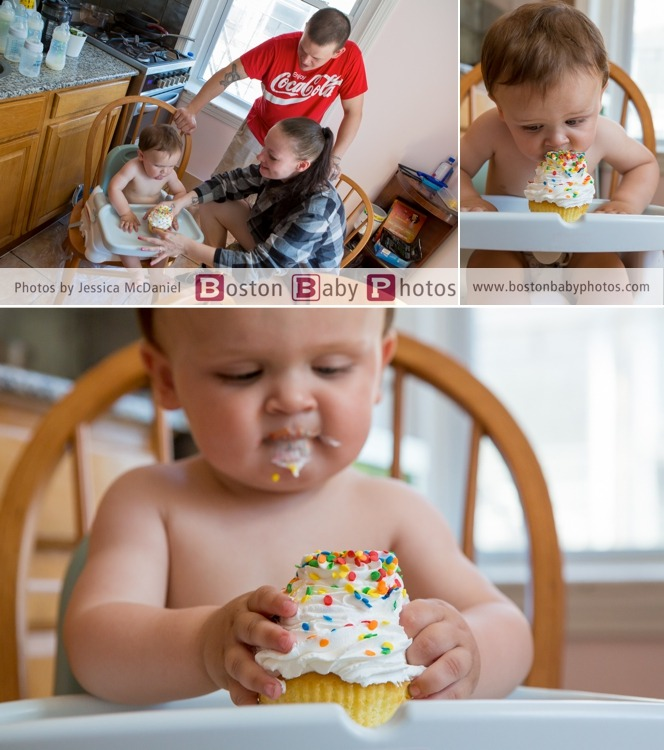 messy birthday minishoot