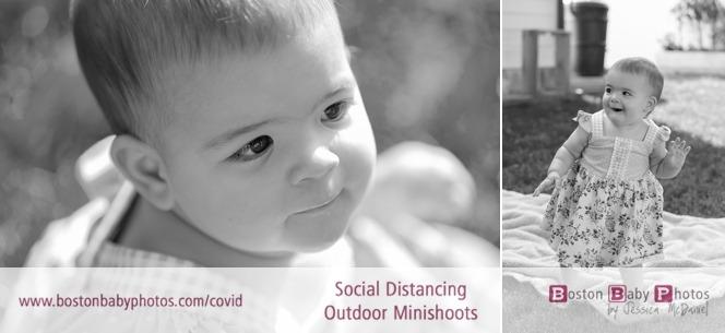 social distancing 1st birthday minishoot
