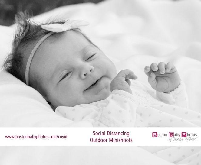 Hanover, MA: Social Distancing Outdoor Newborn Minishoot