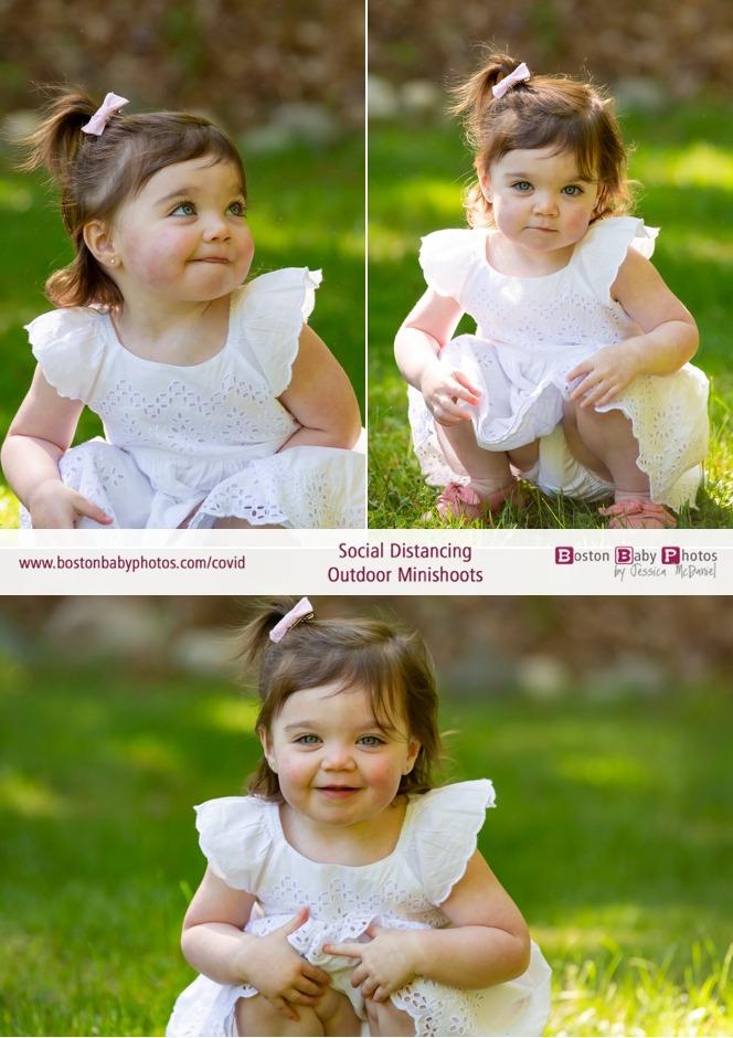 social distancing outdoor newborn photoshoot