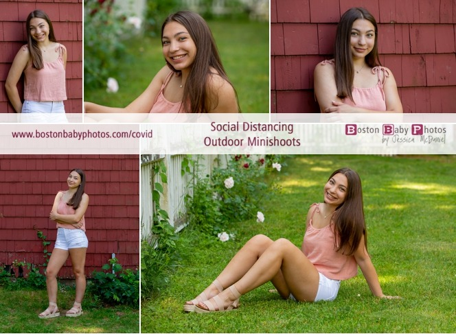 Westborough, MA: One gorgeous girl's social distancing outdoor minishoot