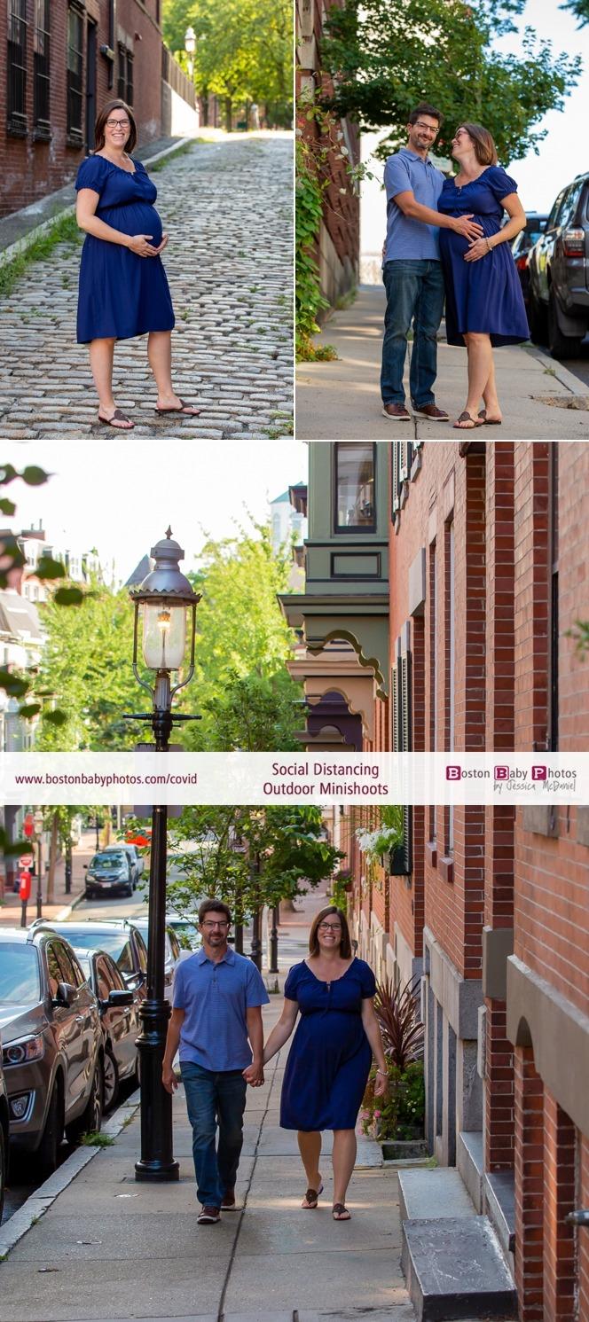 Maternity photos social distancing charlestown