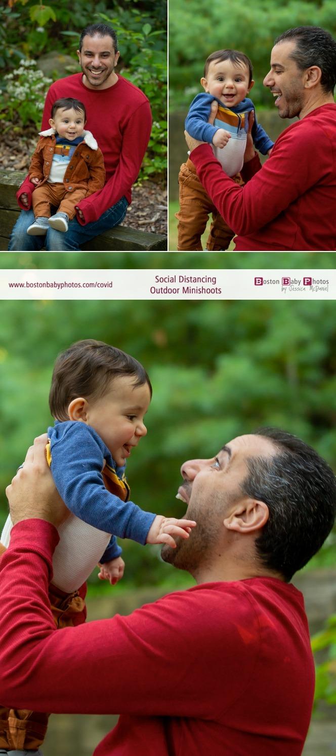 social distancing outdoor baby minishoot