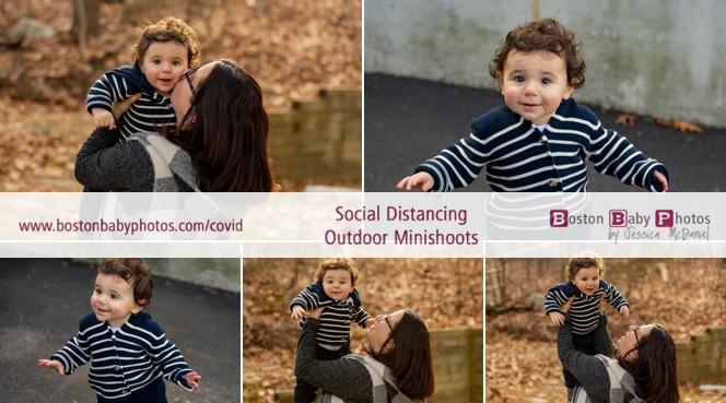 first birthday minishoot outdoors