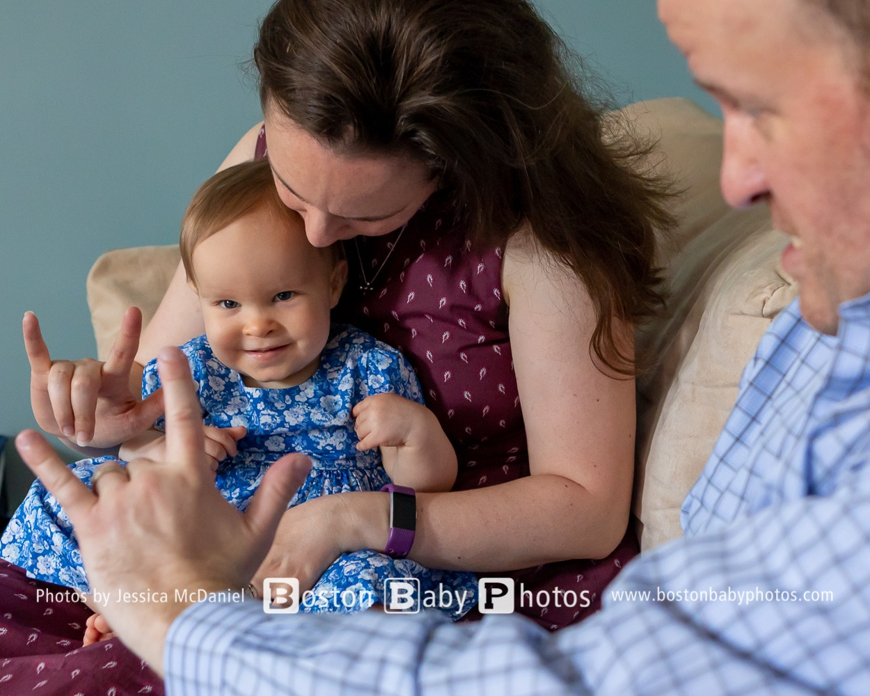 North End One Year Old: Sign Language and A Guardian Angel