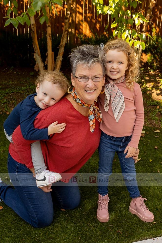 grandma photoshoot