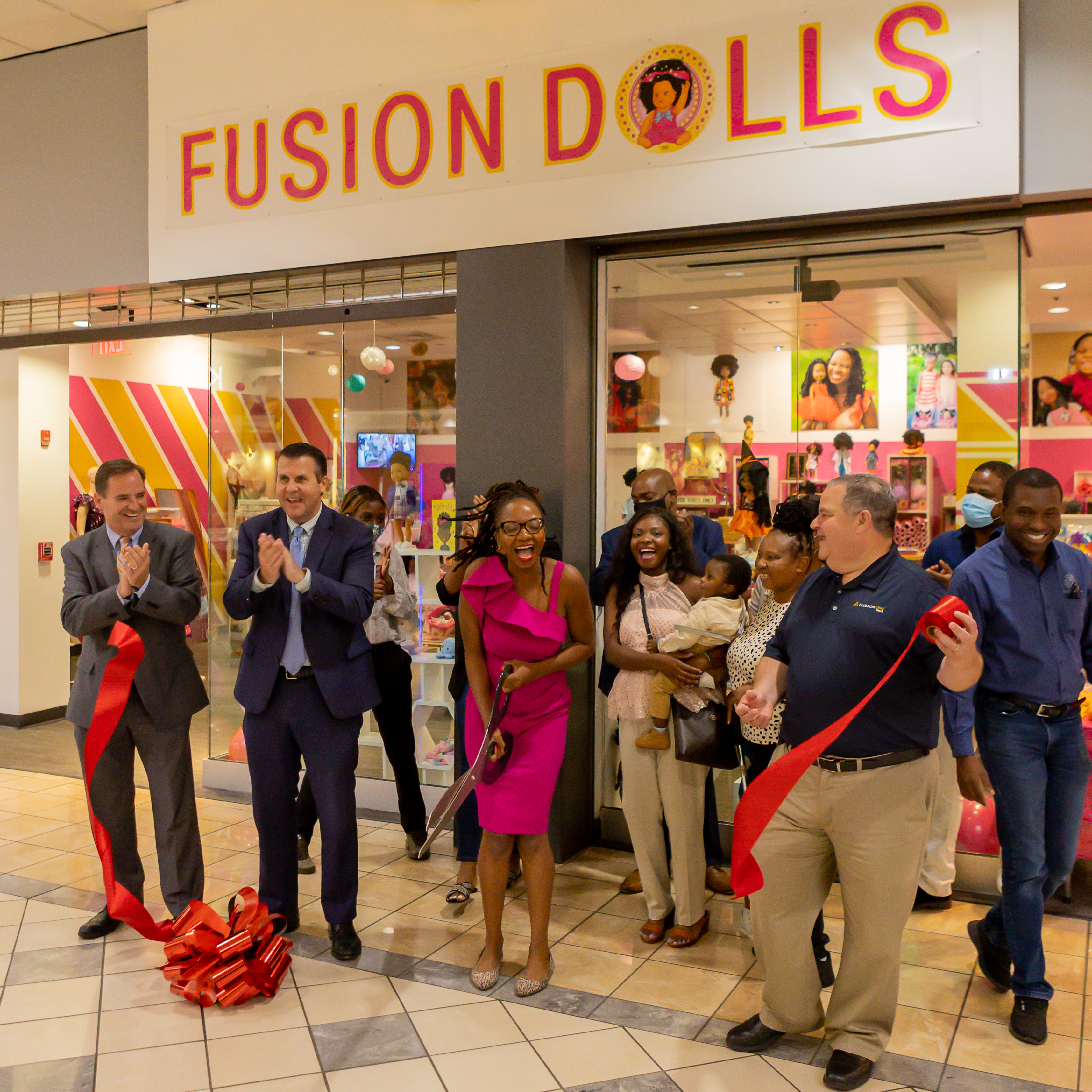 Fusion Dolls Store Grand Opening